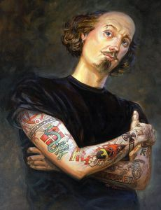 """Tattooed Shakespeare"" by Mathew McFarren"