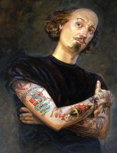 """Tattooed Shakespeare"" by Mathew McFarren"